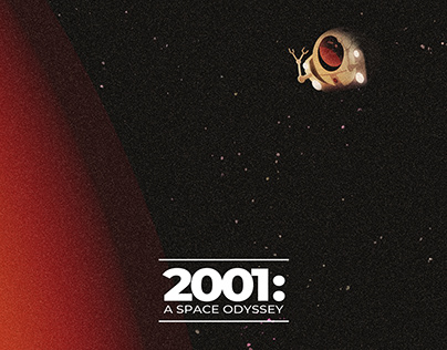 2001: A Space Odyssey tribute poster series