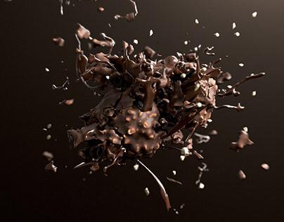 CG Food - Chocolate Explosion