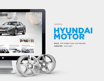 Hyundai Motor Global Website