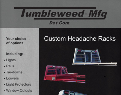 Tumbleweed Mfg Flyer