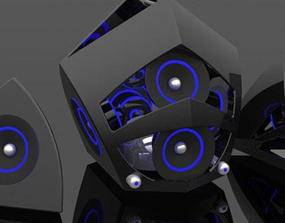Oculus Portable Digital Speaker/Subwoofer