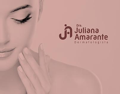 Dra. Juliana Amarante Visual Identity