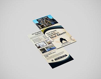 Rack Card Or DL Flyer Design