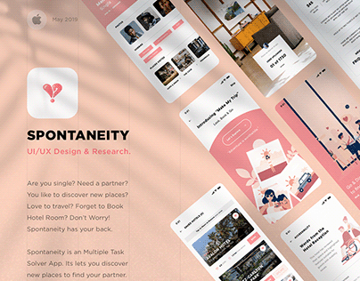 Spontaneity   UI/UX   Solving your multiple needs.