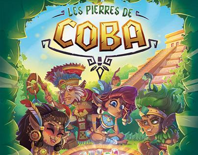 Les Pierres de Coba - Board game visual development