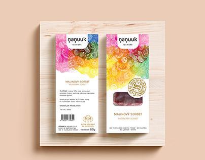 Nanuuk Ice Pops Packaging Design (2020)