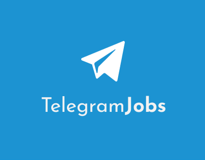 TelegramJobs UX and UI