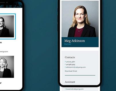 CaleyWray Lawyers: Website