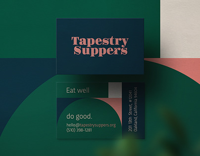 Tapestry Suppers Branding