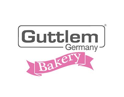Guttlem Bakery Line logo Design