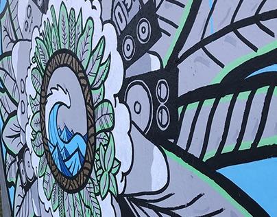 Upfest 2107 - My Artwork @ Bristol Street Art Festival