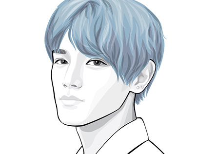 #5-7 kpop portrait series