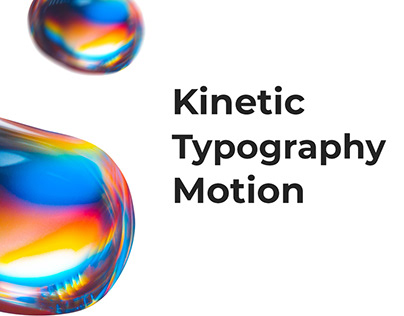 Kinetic typography Motion