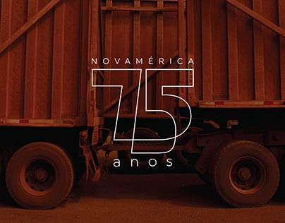 NovAmérica · Proposta 75 anos