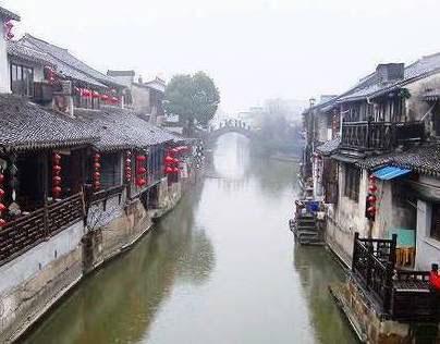 西塘古鎮-XiTang,China...heavy rainy day