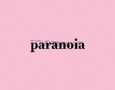 PARANOIA - Identidade Visual