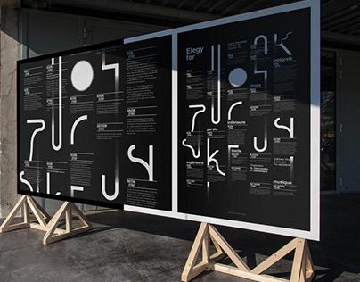 Elegy for Zukofsky / Ficciones Typografika