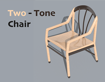 Two-Tone Chair Design