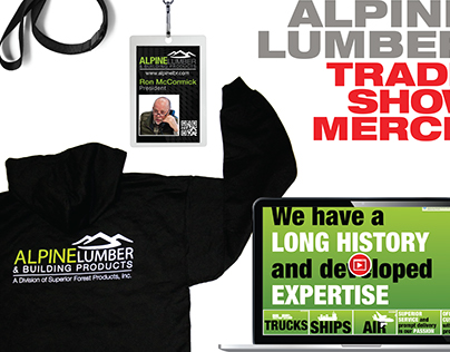 Alpine Lumber & Building Products | Trade Show Merch