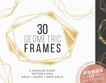 30 Geometric Frames