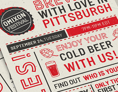 Brewing with Love flyer