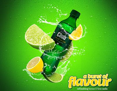 Highlands Club Soda - A Burst of Flavour.