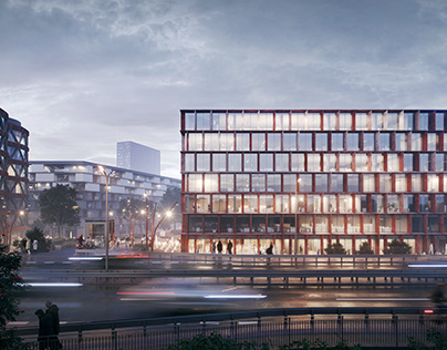Office Building | Competition | 1st Prize