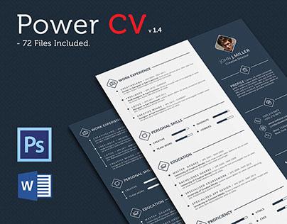 Power CV/Resume