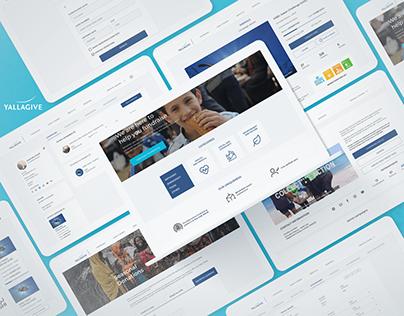 YallaGive - UI/UX Website