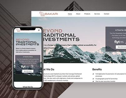 Bakari (Wordpress Web Development + Design)