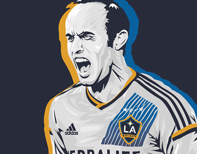 MLS Player Illustrations