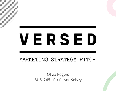 Versed Skincare Marketing Strategy
