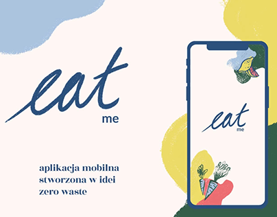 Eat Me - zero waste mobile app project