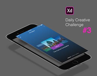XD Daily Creative Challenge #3 Photo Album Mobile App