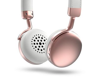Photive HF1 Bluetooth Headphone Graphic Work