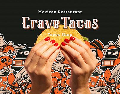 Crave Tacos - Taco Shop Branding