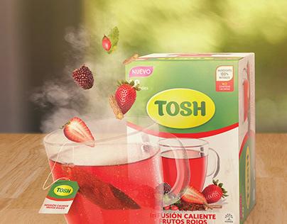 INFUSIONES CALIENTES TOSH