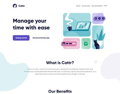 Cattr - server side: API + Core on Laravel, frontend on