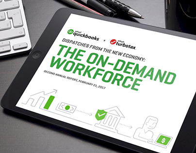 The On-Demand Workforce Slideshare - Intuit