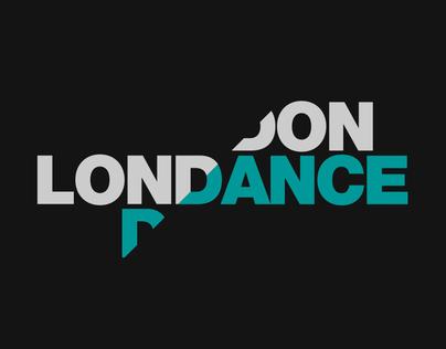 London Dance :: brand & digital design concepts