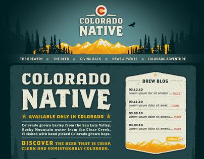 Colorado Native Website