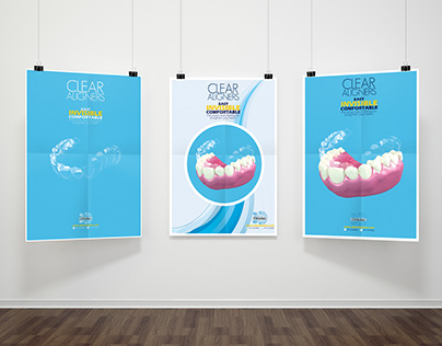 Clear Aligner Poster - 3D Ortholine