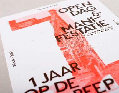 Op De Valreep1 Year / Print Promotion