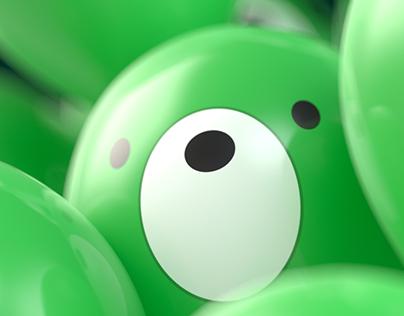 Midorikumaballoon