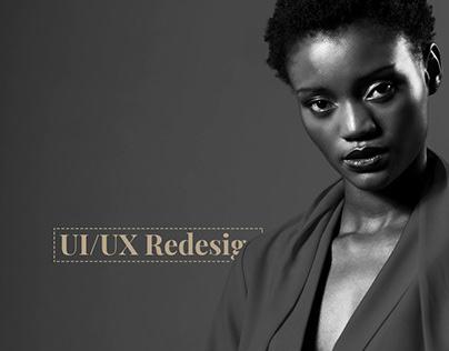 Serbia Fashion Week UI/UX Redesign