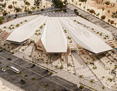 The Rootage Complex in Giza, Egypt by Ldp+Partners