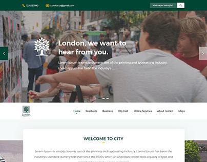 London City Website