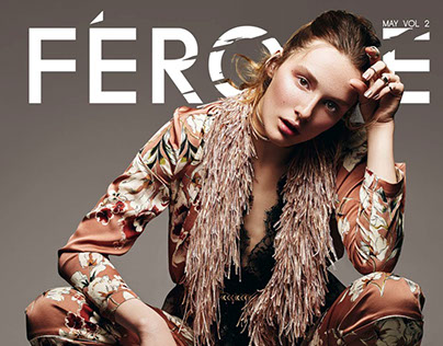 Féroce Magazine May 2017 Cover