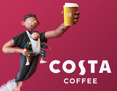 Costa Coffee Club Launch