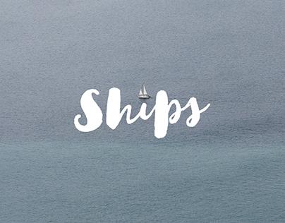 Ships. A super tiny project.